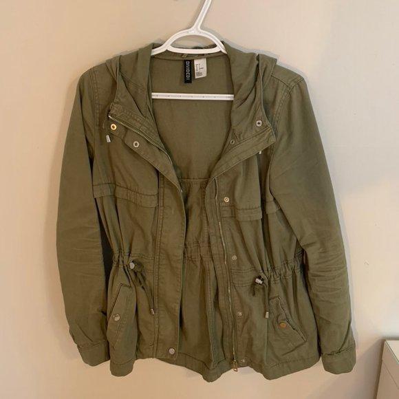 H&M Army Green Fall Jacket